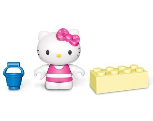 MEGA BLOKS Hello Kitty Series 3 BEACH pale FACTORY SEALED Mystery Minifigure