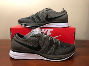 583cd2567fe5 Image is loading Nike-Flyknit-Trainer-Running-Shoes-Olive-Black-AH8396-