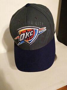 OKC-Oklahoma-City-Thunder-Adidas-Snapback-Hat-Cap-NBA-NICE
