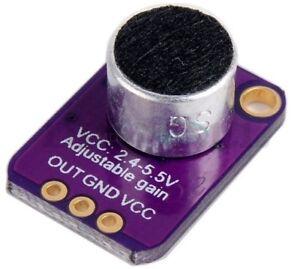 Electret-Microphone-Amplificateur-MAX4466-avec-Reglable-Gain