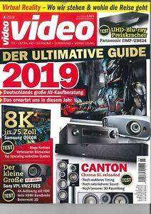 video-Magazin-Heft-Maerz-3-2019-Der-ultimative-Guide-2019-wie-neu