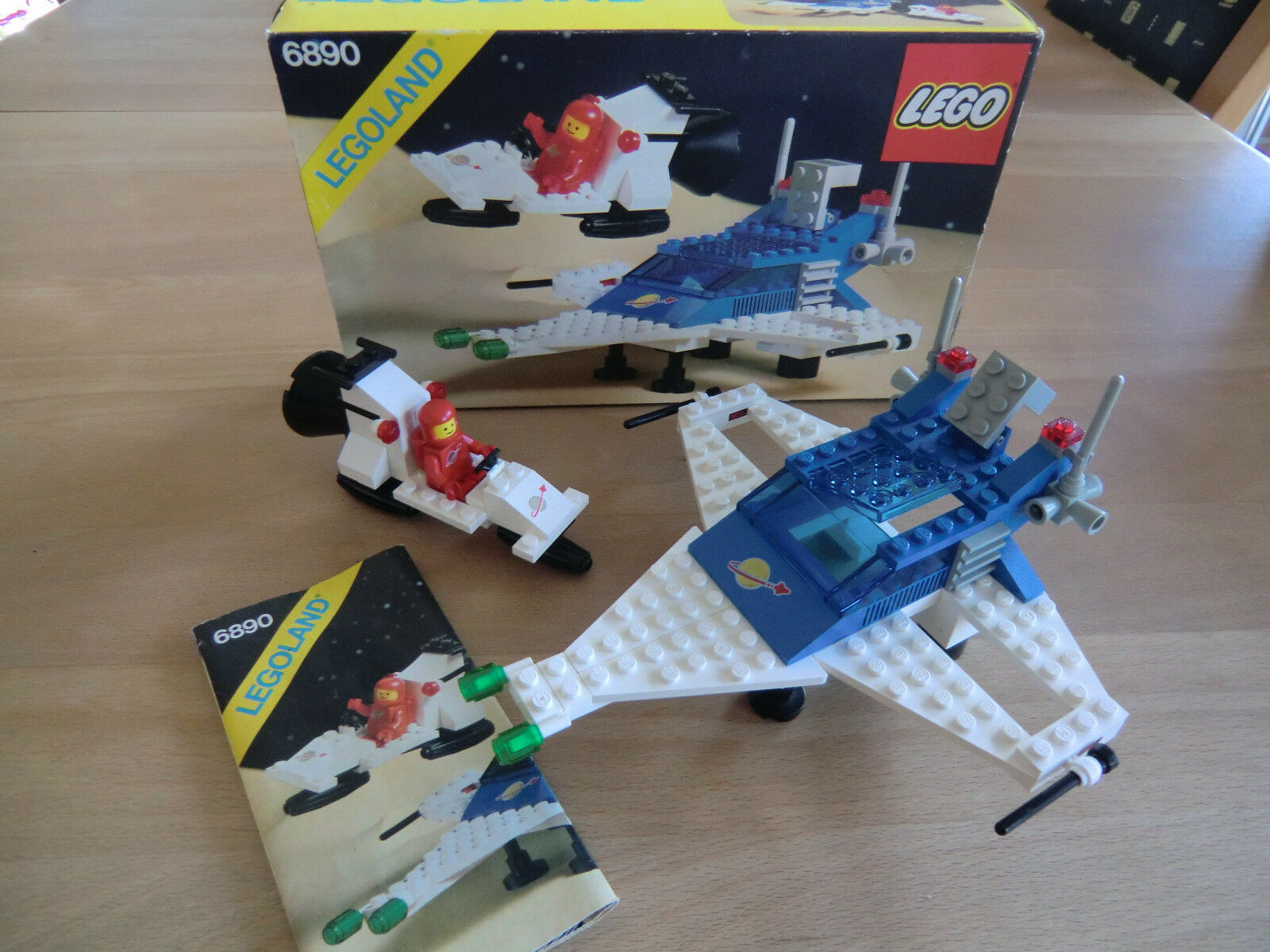 LEGO 6890: Space Classic Transport - OVP OBA Komplett Top-Zustand Vintage