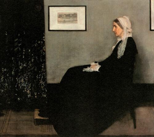 Whistlers Mother,c.1922 James Abbott Mcneneill Whistler American Paintings