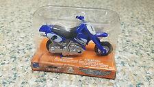 NIB New-Ray Power Up Mini Dirtbike Pull-Back Toy, Blue