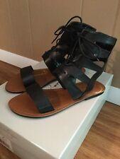 Sz 6 Jessica Simpson Black Gladiator Sandals EUC!!!