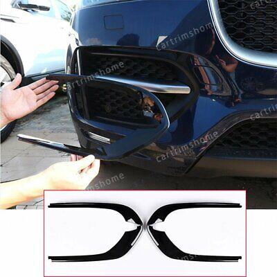 Front Fog Light Cover Trim For Jaguar F-Pace X761 R-Sport ...