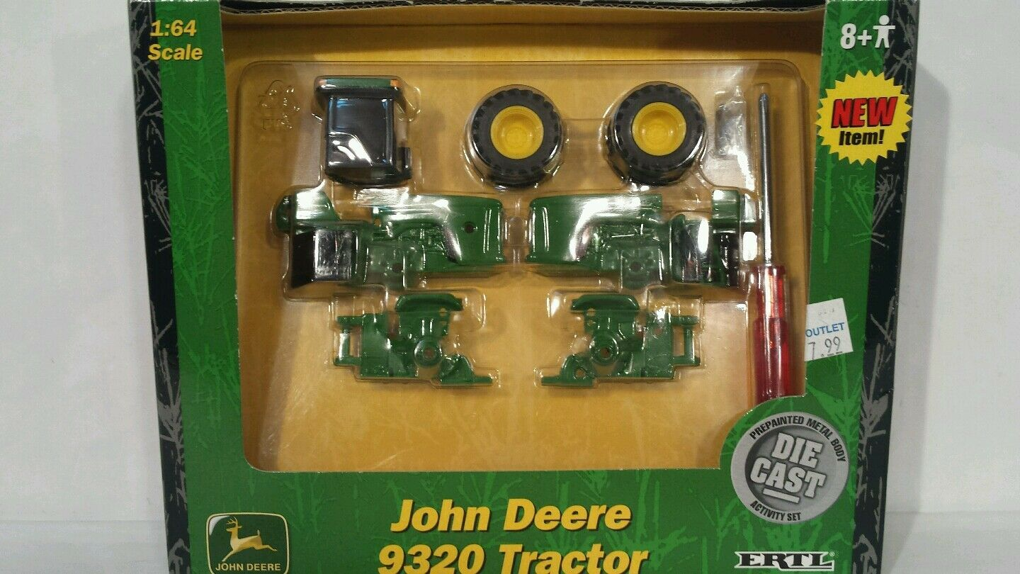 Ertl John Deere Deere Deere 9320 1 64 Die Cast Activity Set replica collectible 58f2f9