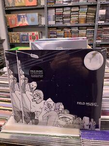 Field Music LP Flat White Moon Limited Edition Transparent Vinyl 2021 Versiegelt