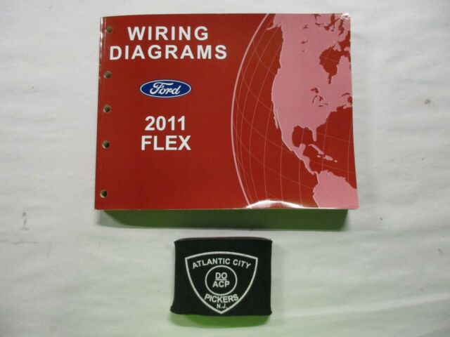 2011 Ford Flex Electrical Wiring Diagrams Service Manual