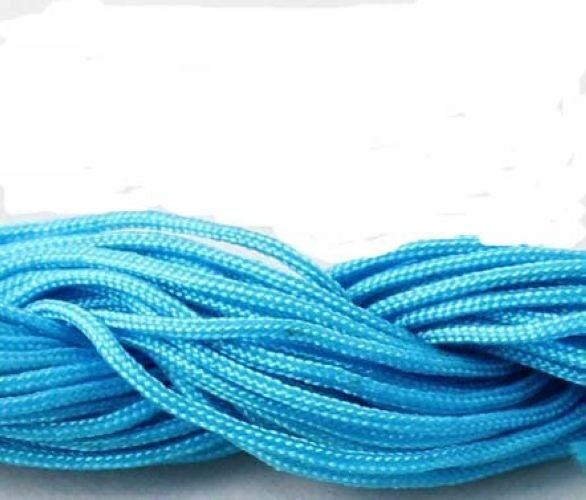 1Roll 1mm Nylon Cord Thread Chinese Knot Macrame Shamballa Bracelet String