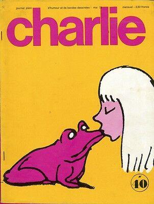 """""""charlie N°40 / Mai 1972"""" Feiffer"""