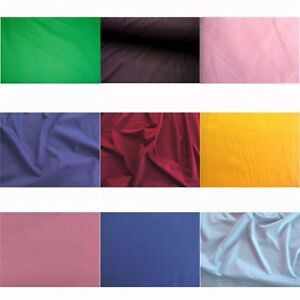 Image Is Loading 60 034 Inch Cotton Polyester Broadcloth Fabric Quilting