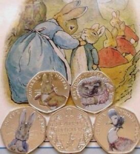 image is loading beatrix potter 50p coins 2016 17 sets albums