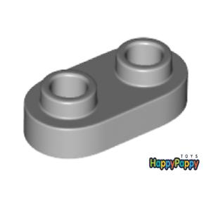 Lego 6x Platte mit Noppen 1x2 Hell Grau Light Bluish Gray Plate 35480 Neu New