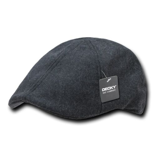 Decky Melton 6 Panel Wool Woven Ivy Sports Comfort Hats Caps 2 Sizes