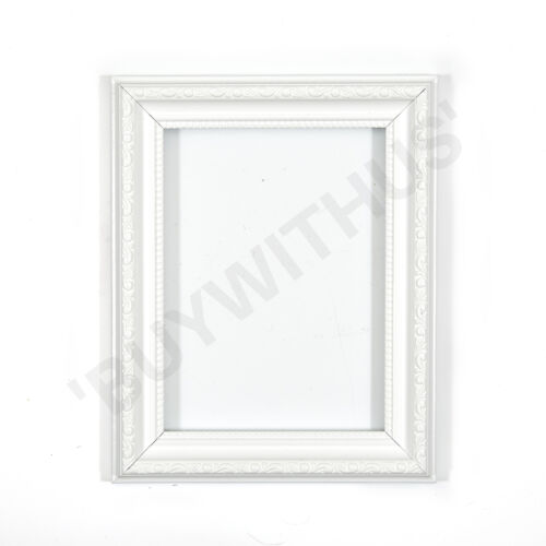 Ornate Shabby Chic Picture Frame Photo Frame Poster Frame Gold Black silver whit