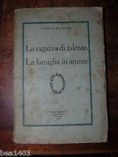 Gobetti editore BONGIOANNI Fausto Fausto La ragazza di talento Gobetti 1925