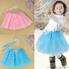 1x Girls Kids Tutu Skirt Ballet Dance Wear Pettiskirt Party Costume Dress Gift E
