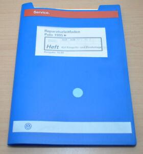 Vw Polo 3 6n Ab 1995 4lv Einspritz Und Zündanlage Werkstatthandbuch Leitfaden Vertrieb Von QualitäTssicherung Service & Reparaturanleitungen