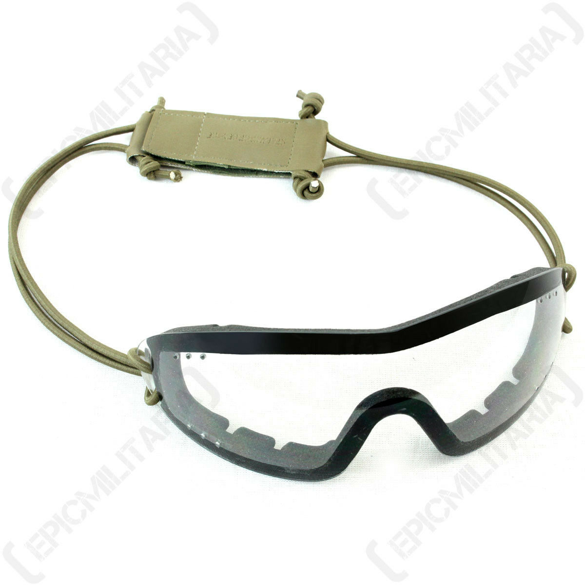SWISS EYE 'Infanterie' Lunettes - Transparent - de predection airsoft militaire