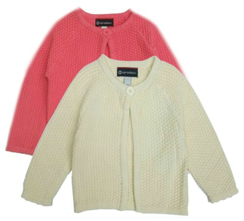 Baby Girls Sweater Cardigan Toddler Swing Knit Long Sleeve Cotton 12 Months 6X