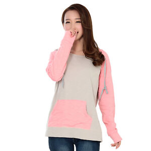 2642ec5275629 Details about Long Sleeve Maternity Clothes Breastfeeding T-Shirts Nursing  Tops Autumn Winter