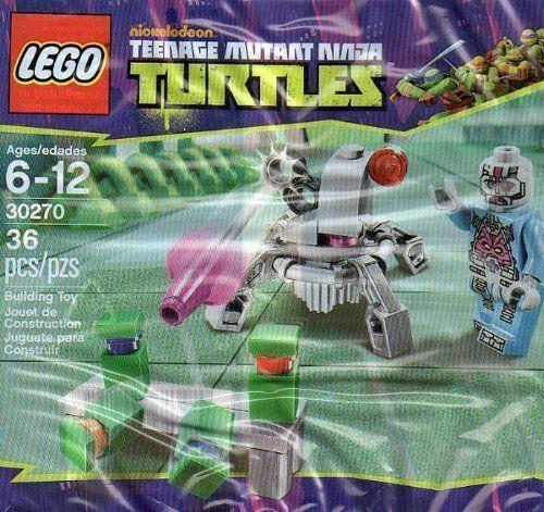 LEGO Teenage Mutant Ninja Turtles 30270 Kraang Laser Turret Polybag set New!!