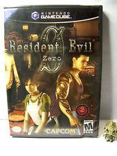 resident evil zero 0 NINTENDO GAME CUBE  version ntsc USA neuf - NEW SEALED