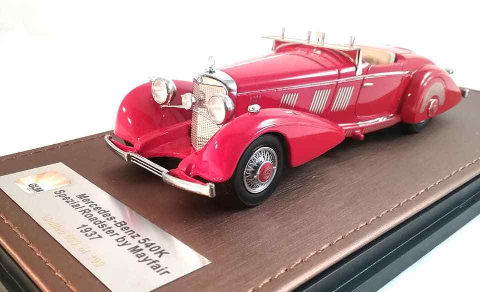 1937 Mercedes-Benz 540k Spezialroadster Mayfair in 1 43 Scala da Glm