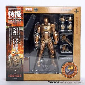 Sci-Fi-Revoltech-Iron-Man-Mark-XXI-Mk-21-PVC-Action-Figur-Sammlerstueck-Modell-Spielzeug