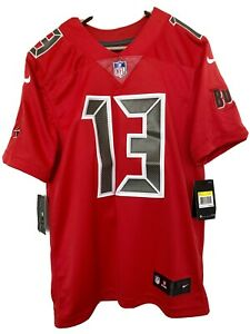 Details about Nike On Field Mike Evans Tampa Bay Buccaneers Jersey Stitched 819070 661 SMALL