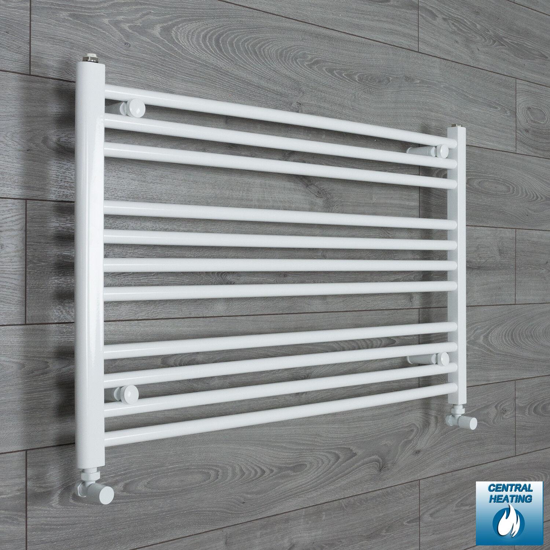 Larghezza 950mm 600mm alta dritto bianco binario calorifero radiatore bagno Rad
