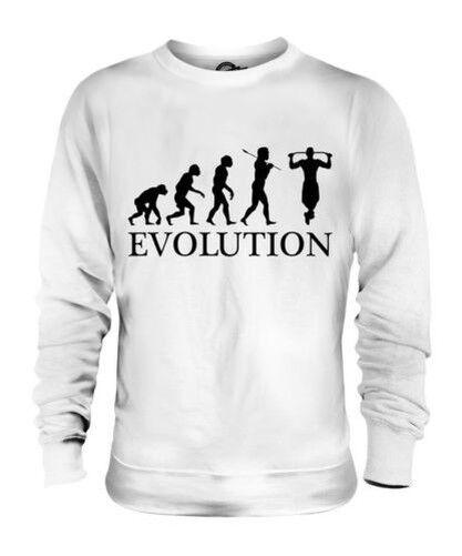 Pull Up Evoluzione Umana Unisex Maglione  Herren Damenschuhe Idea Regalo Damenschuhe Bar