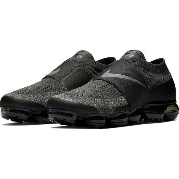 Nike Vapormax FlyKnit MOC Midnight FogRunning Shoe Black/Green Size 9-12,13