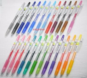 + Free 6 Black pens Pilot Juice 0.5mm Extra Fine Gel Ballpoint Pen 36 Colors