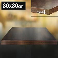 5449-2 Bistro Tischplatte60x60cmWengeHolzGastro Restaurant Holzpla