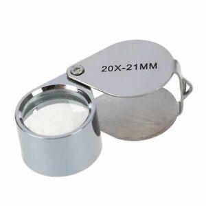 20xGrossissement-Loupe-Poche-Horloger-Montre-Teparation-Bijoutier-Pocket-Plia-3M
