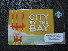 2012 STARBUCKS CITY BY THE BAY CARD SAN FRANCISCO NEW AND UNUSED
