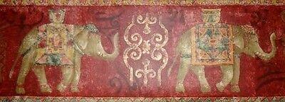 1Roll Wallpaper Border Norwall AR75375 Elephant Bordo Prepasted 5yds  DX45A//10