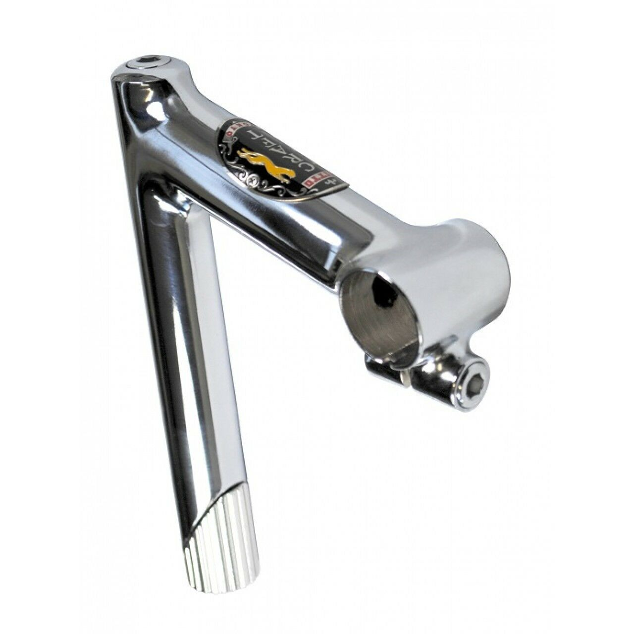 Nitto Craft Steel Quill Stem Polished Chrome 25.4 & 26.0 Multiple Stem Sizes