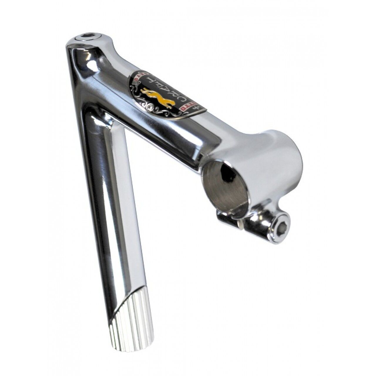 Nitto Craft Steel Quill Stem Polished Chrome 25.4 & 26.0 Multiple Stem Diuominiiones