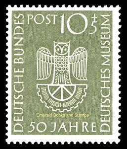 EBS-Germany-1953-German-Museum-Deutsches-Museum-Munich-Michel-163-MNH-cv-48