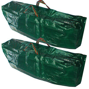 Christmas Tree Xmas Storage Box Bag Large 4ft Zip Cover