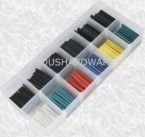 wiring /& electrical connections 180 Piece Heat Shrink Tubing Wire Sleeves Kit