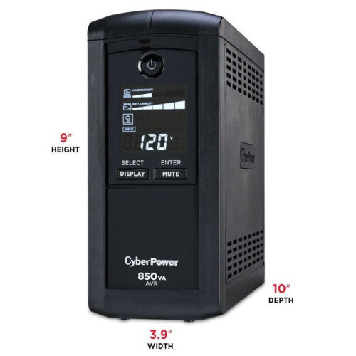 Power Surge Protector UPS 850VA 510W AVR Computer PC Emergency Battery Backup