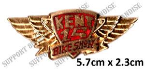 HELLS-ANGELS-KENT-CUSTOM-BIKE-SHOW-1993-Pin-Badge-HIGHLY-COLLECTABLE-RARE-KCBS