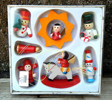 Boxed Set of Unused Vintage Christmas Decorations Ornaments - Old Shop Stock #10