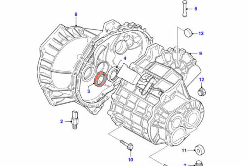 Honda Volvo CORTECO 12015750B Diff//Driveshaft Oil Seal fits Ford Nissan