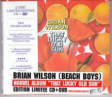 CD DIGIPACK + DVD BRIAN WILSON (BEACH BOYS) THAT LUCKY OLD SUN EDIT. LIMITÉE