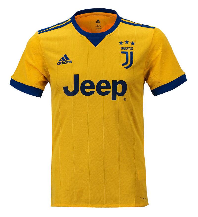 Adidas 1718 Juventus Away Jersey BQ4530 Football Club Team Uniform Top